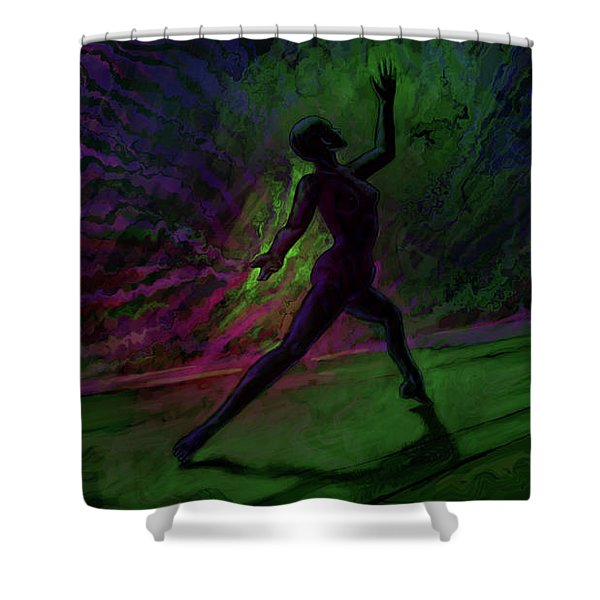 Hidden Dance Shower Curtain