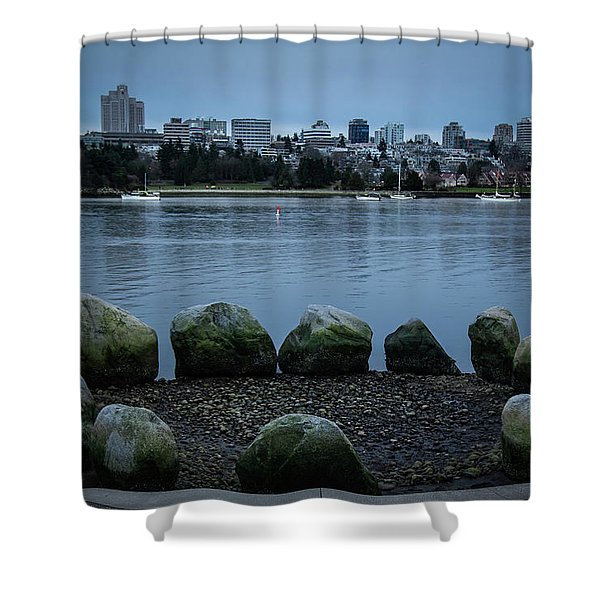 Shower Curtain featuring the photograph High And Low Tide by Juan Contreras