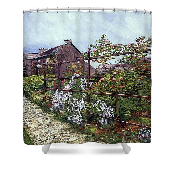 Hill Top, Beatrix Potter Country House Shower Curtain