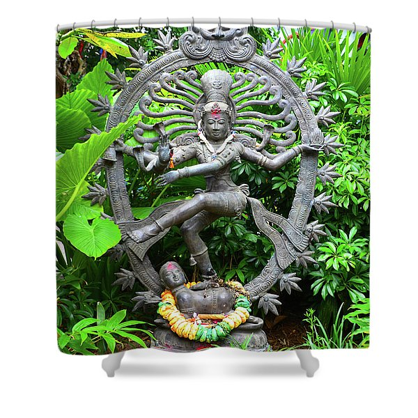 Hindu Statue  Shower Curtain