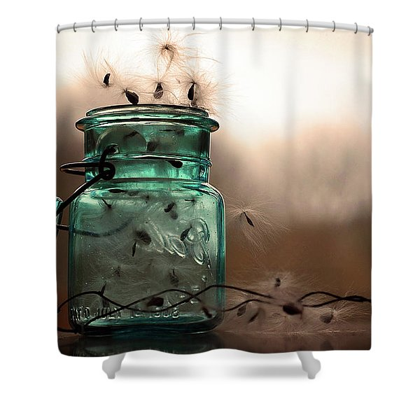 Shower Curtain featuring the photograph His Cup Runneth Over by Michelle Wermuth
