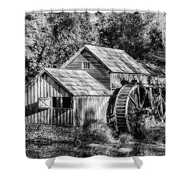 Historic Mabry Mill Shower Curtain