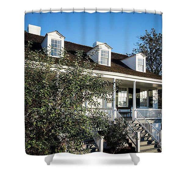 Historic Meadow Garden Augusta Ga Shower Curtain