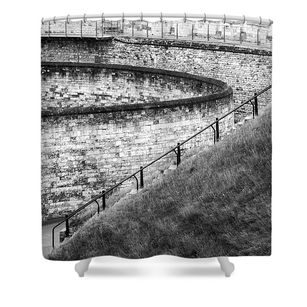 Lincoln Castle Shower Curtain