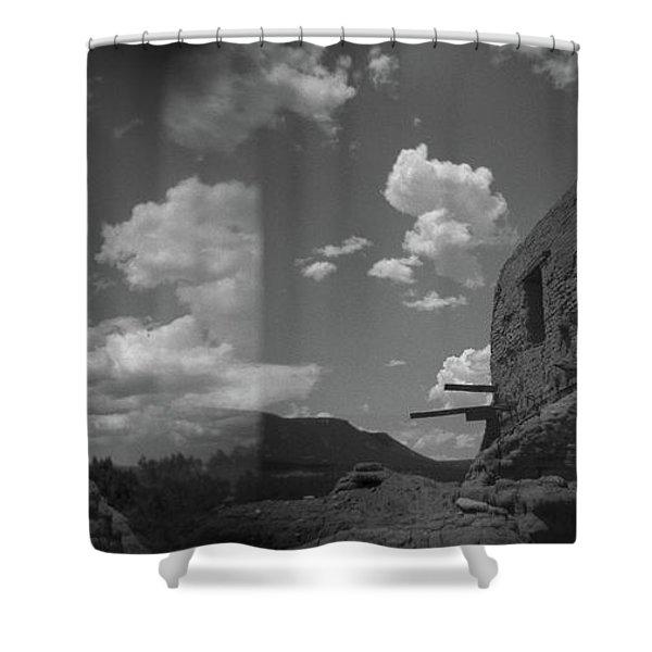 Holga Triptych 2 Shower Curtain