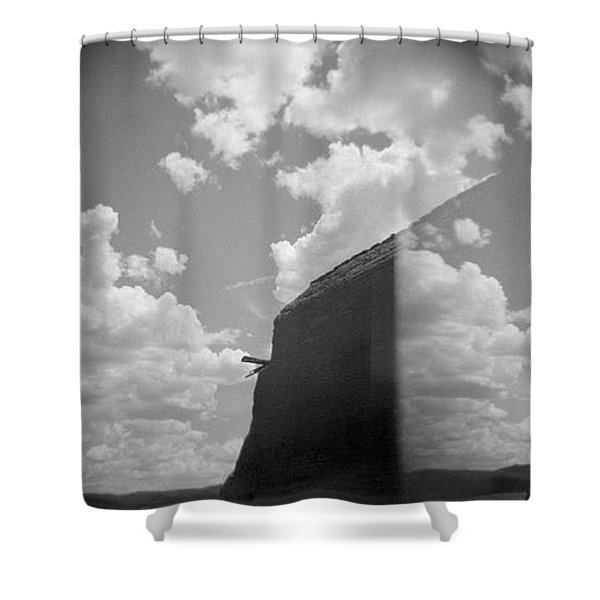 Shower Curtain featuring the photograph Holga Triptych 3 by Catherine Sobredo