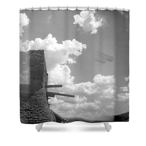 Holga Triptych 5 Shower Curtain