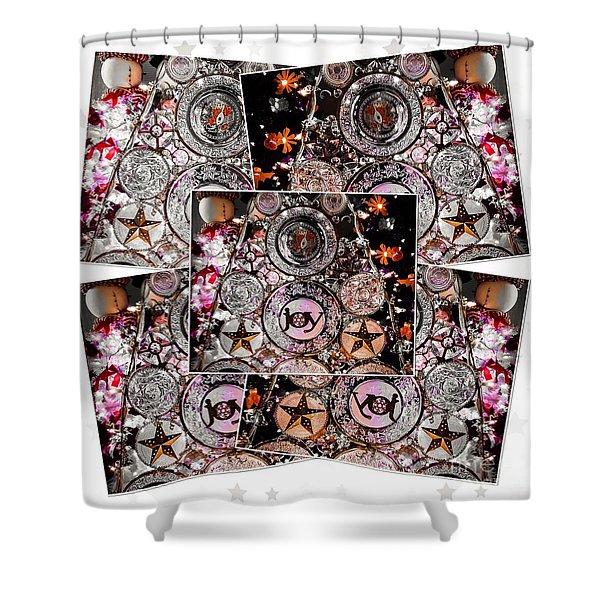 Holiday Joy Shower Curtain