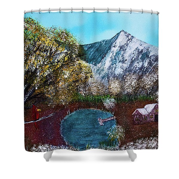 Home Time Shower Curtain