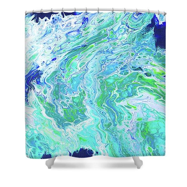 Ho'okipa Beach Shower Curtain