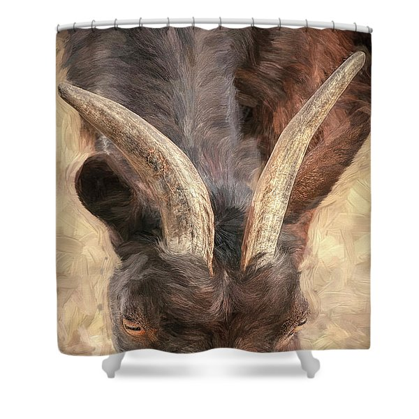 Horns Shower Curtain