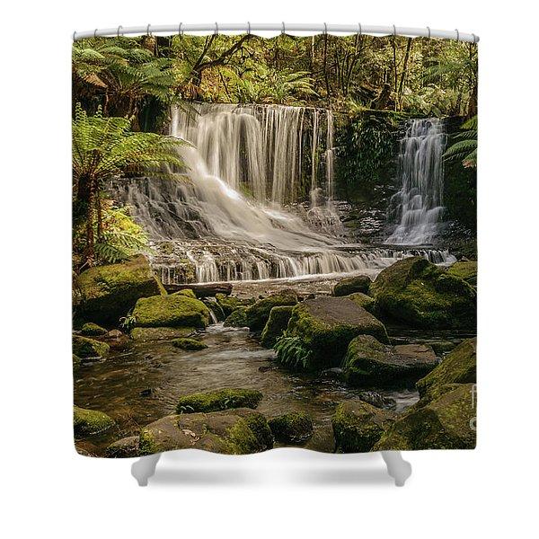 Horseshoe Falls 01 Shower Curtain