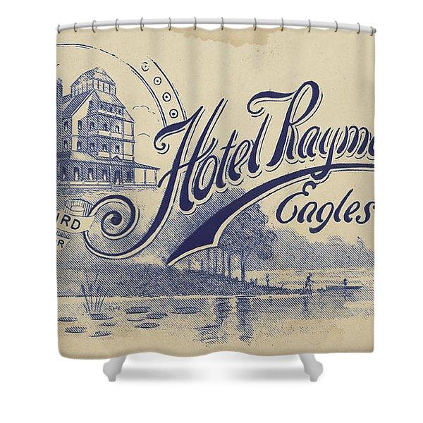 Hotel Raymond Shower Curtain