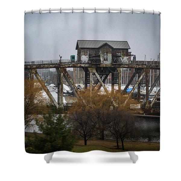 House Bridge Shower Curtain