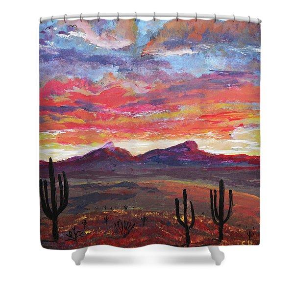 How I See Arizona Shower Curtain