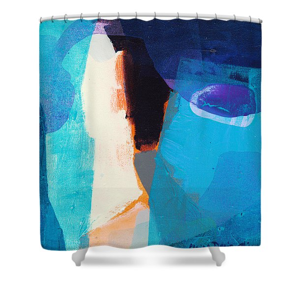 How Many More Days? Shower Curtain