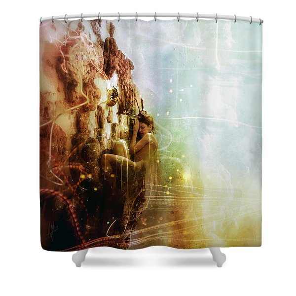 How To Disappear Completely Shower Curtain