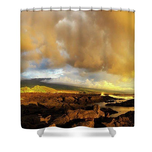 Hualalai Sunset Shower Curtain