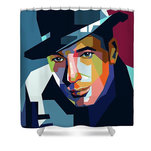 Humphrey Bogart Shower Curtain