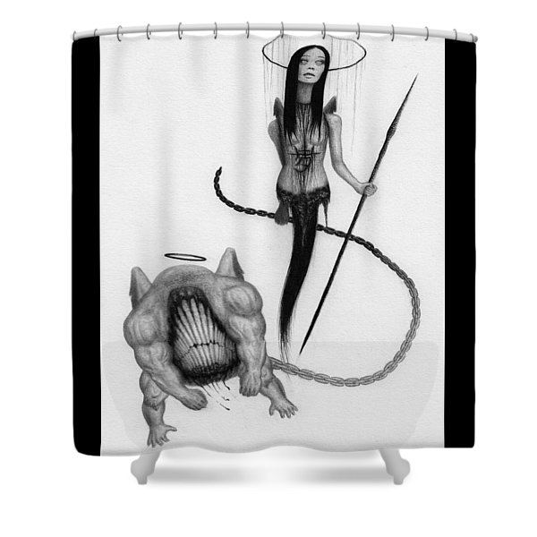 Huntress - Artwork Shower Curtain