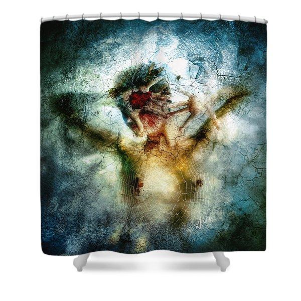 I Break Shower Curtain