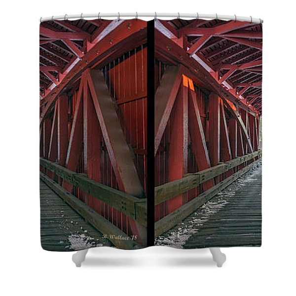 I Got You Covered 3d Stereo Xview Shower Curtain