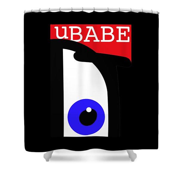 I See Ubabe Shower Curtain