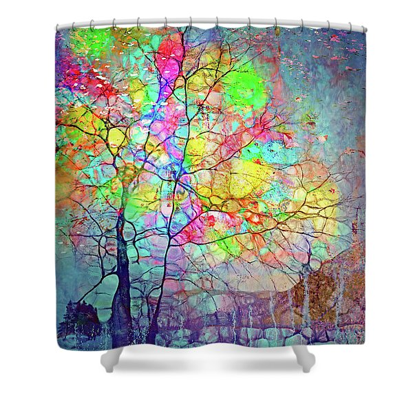 I Will Shine For You, Even In This Storm Shower Curtain