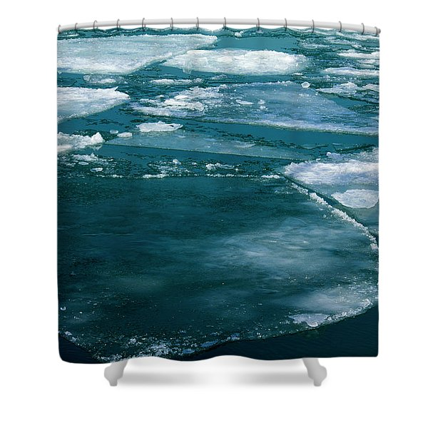 Ice 2 Shower Curtain