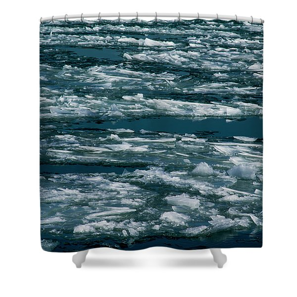 Ice Cold With Filter Shower Curtain