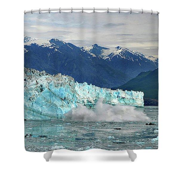 Iceberg Splash Hubbard Glacier Shower Curtain