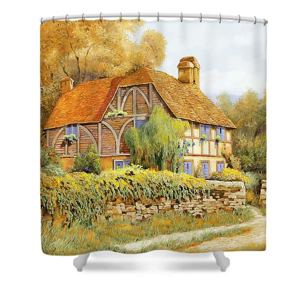 Il Salice Inglese Shower Curtain