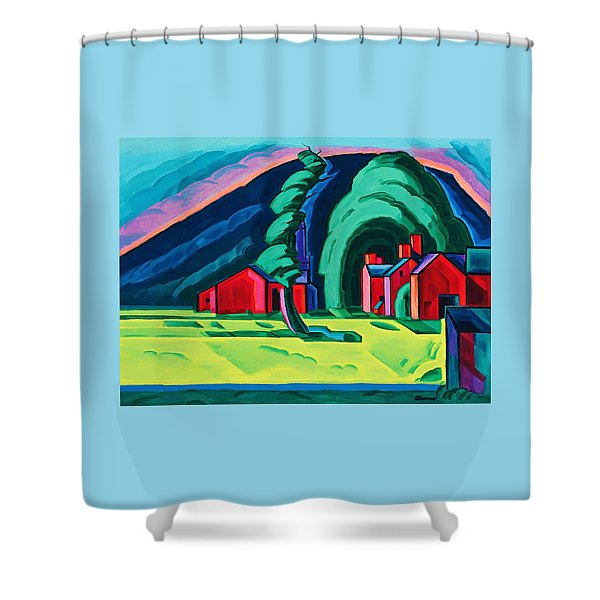 Illusion Of A Prairie, New Jersey - Digital Remastered Edition Shower Curtain