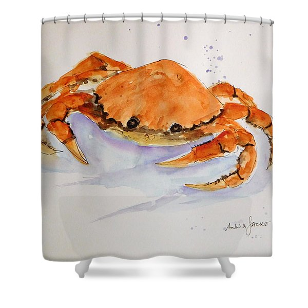 I'm Crabby Shower Curtain