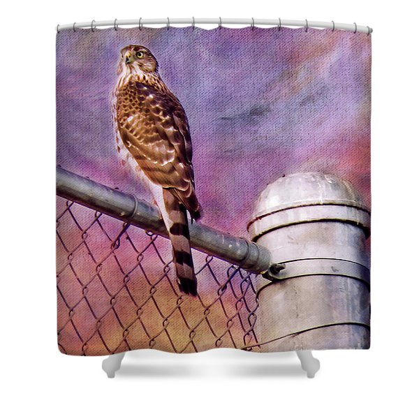 I'm Keeping My Eyes On You Shower Curtain