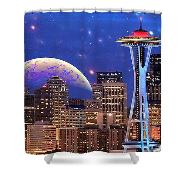 Imagine The Night Shower Curtain