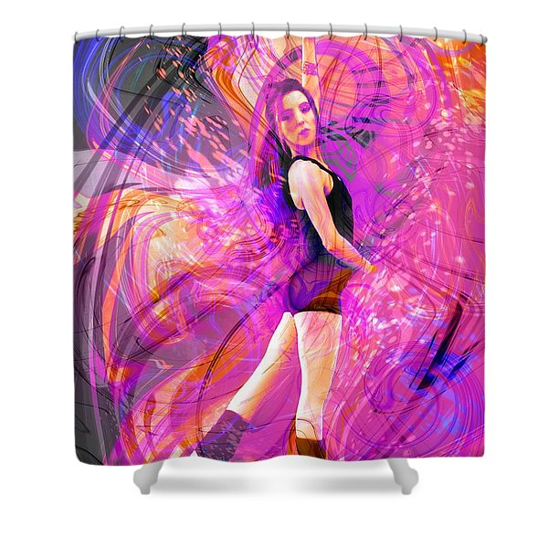 Immortal Memory Shower Curtain