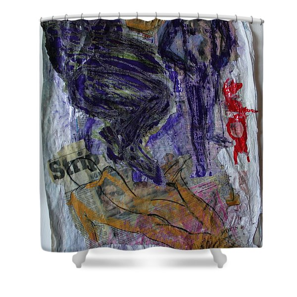 In A Vice Like Grip Of Hate Shower Curtain
