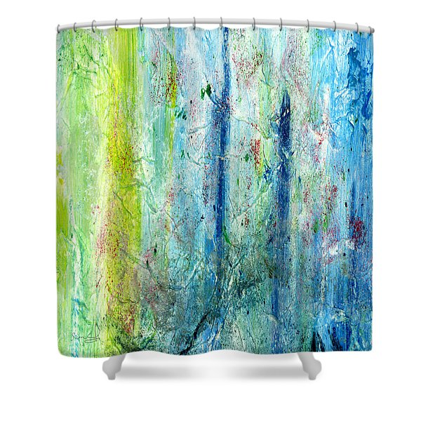 In All Creation Shower Curtain