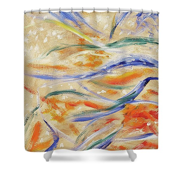 In Motion Shower Curtain