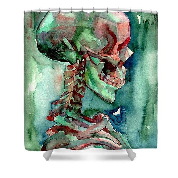In Reverie Shower Curtain