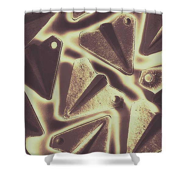 In The Fold Shower Curtain
