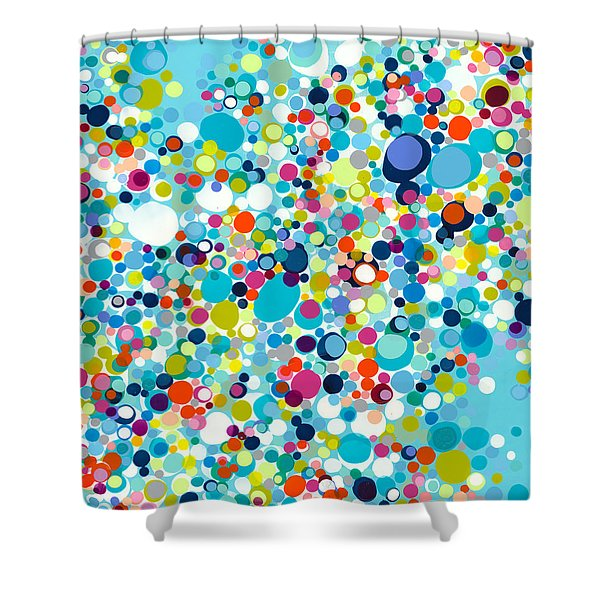 In The Meantime Shower Curtain