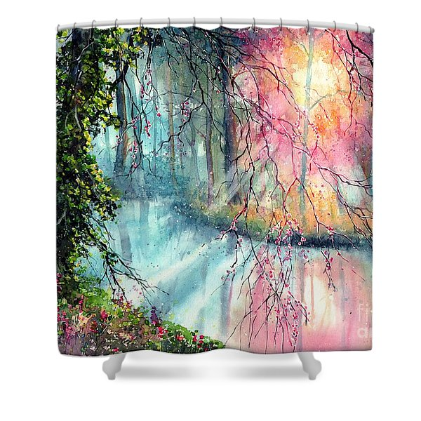 In The Nature Reserve Shower Curtain