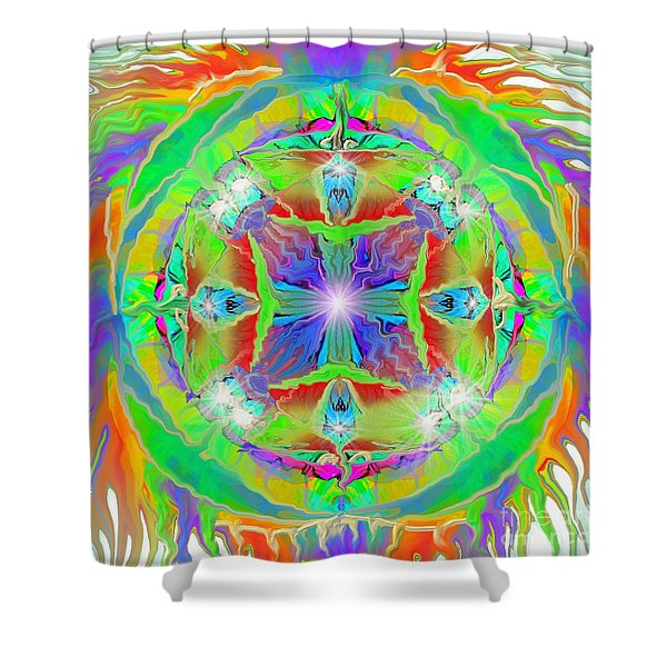 Indian Mandala Shower Curtain