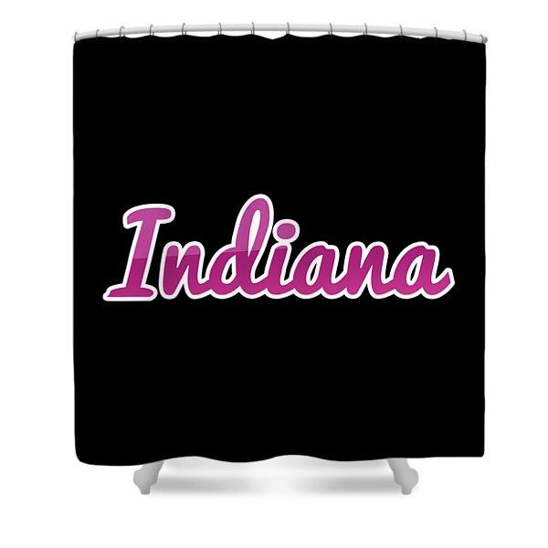 Indiana #indiana Shower Curtain