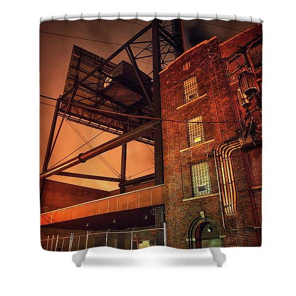 Industrial Sky Shower Curtain