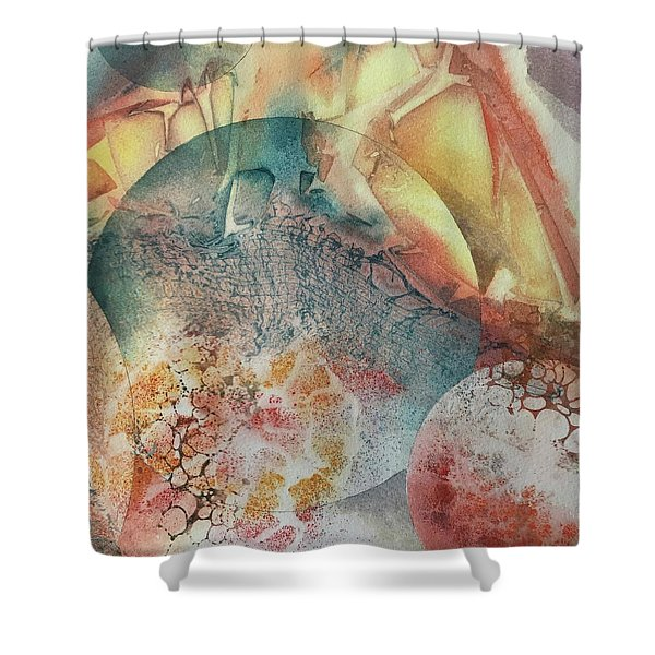 Infinite Worlds Shower Curtain