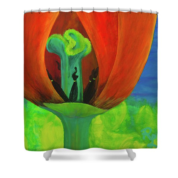 Inner Beauty - The Ritual Shower Curtain