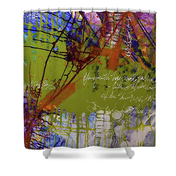 Inner Faith Shower Curtain